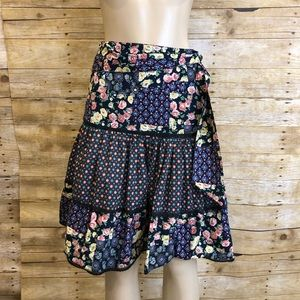ANTHROPOLOGIE ODILLE | Floral Flare Skirt 2